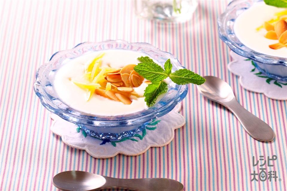 ココナッツヨーグルト(プレーンヨーグルト+ココナッツミルクを使ったレシピ)