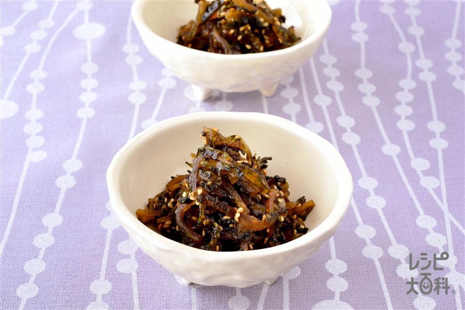 ゴーヤの佃煮(ゴーヤ+砂糖を使ったレシピ)