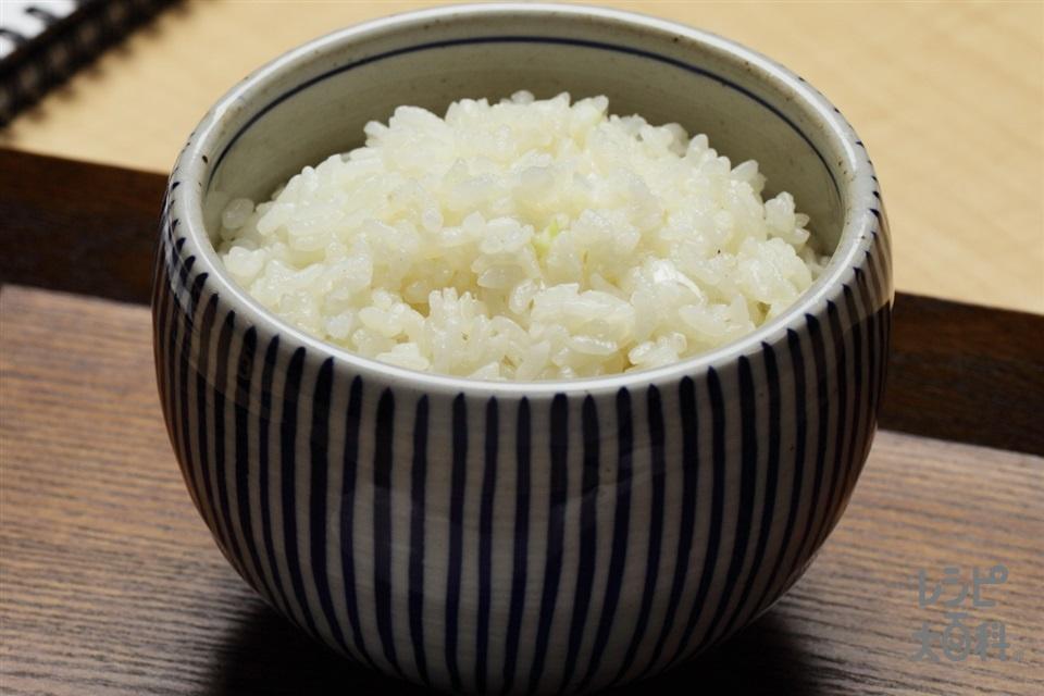 あえるだけ!味つけご飯(ハオ飯(塩))(ご飯+ねぎのみじん切りを使ったレシピ)