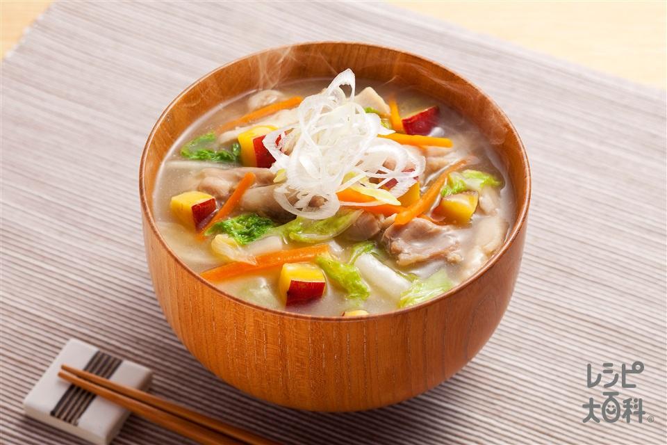鶏汁(鶏もも肉+白菜を使ったレシピ)
