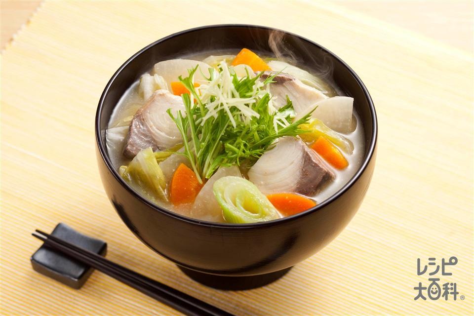 ブリ汁(ぶり+大根を使ったレシピ)