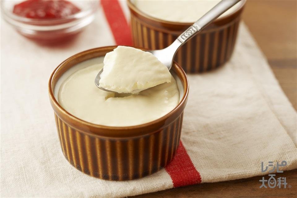 パンナコッタ(牛乳+生クリームを使ったレシピ)