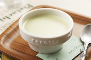 玄米茶のミルクプリン