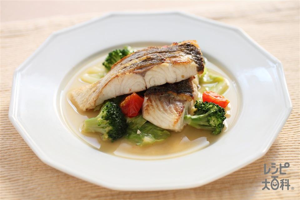 アクアパッツァ(白身魚(切り身)+キャベツを使ったレシピ)