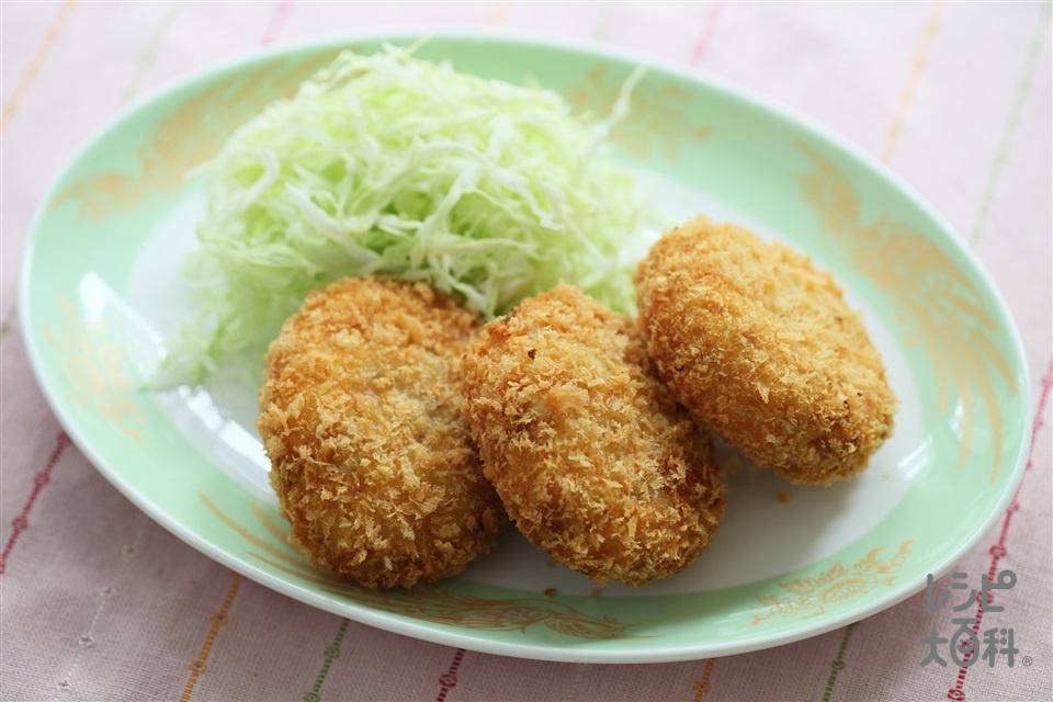 ポテトコロッケ(じゃがいも+豚ひき肉を使ったレシピ)