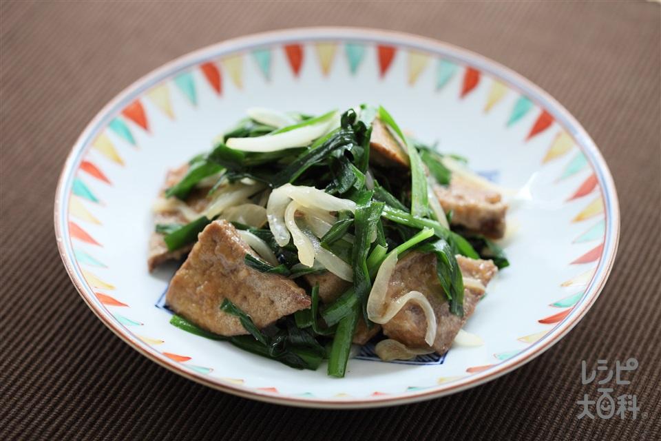 レバニラ炒め(豚レバー+「Cook Do 香味ペースト」を使ったレシピ)