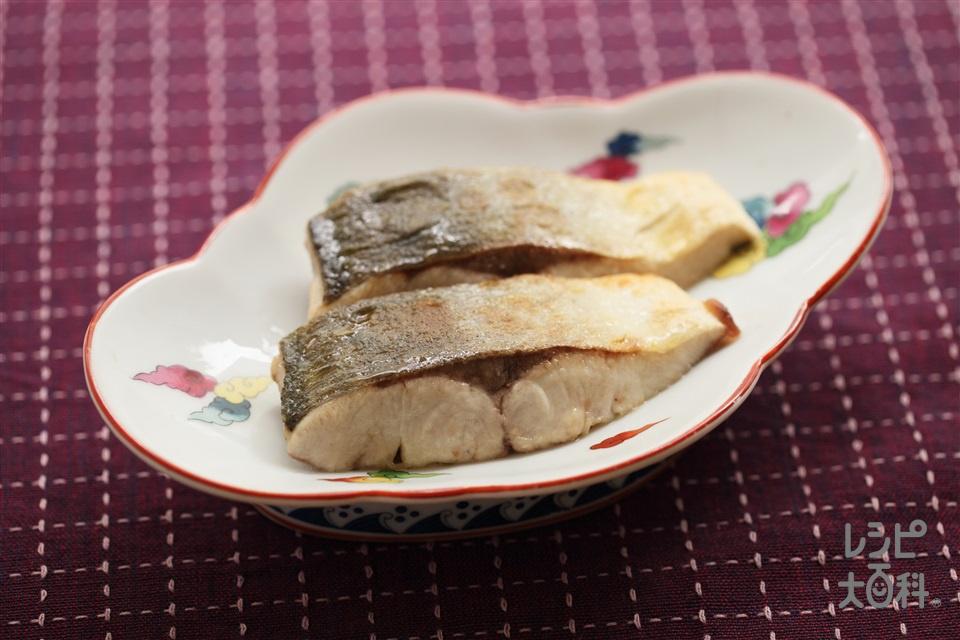 ぶりのソテー(ぶり(切り身)+薄力粉を使ったレシピ)