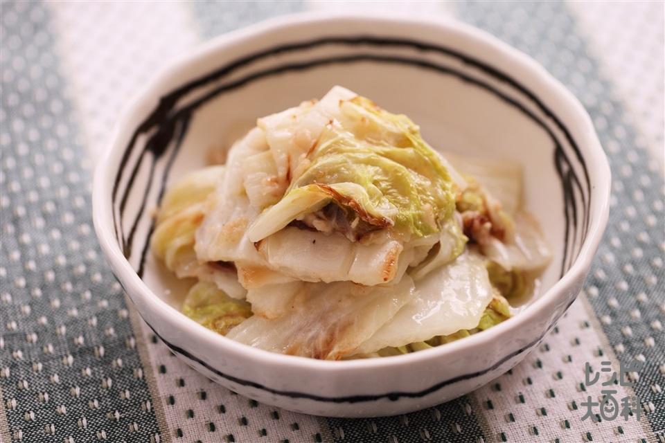 焼き白菜(白菜+小麦粉を使ったレシピ)