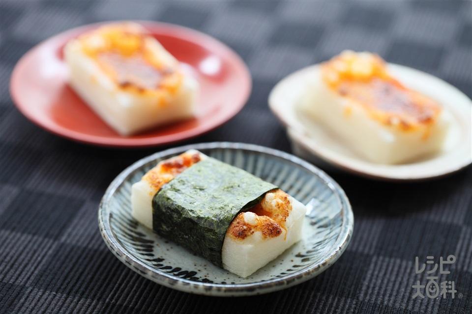 ピリ辛焼き餅