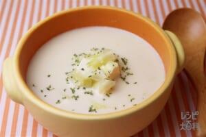 キャベツと豆腐のミルクスープ