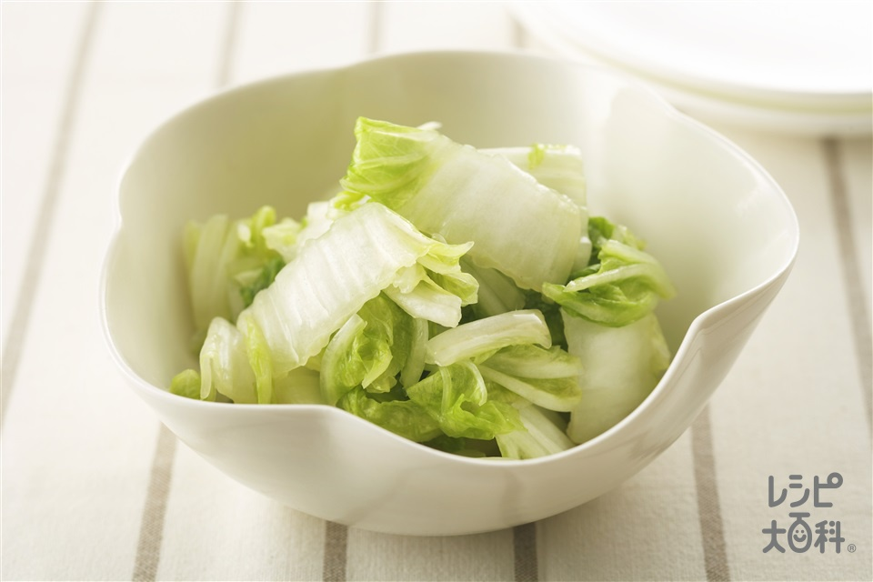 白菜の「やさしお」浅漬け(白菜+を使ったレシピ)