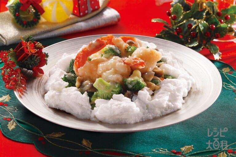 ホワイト八宝菜