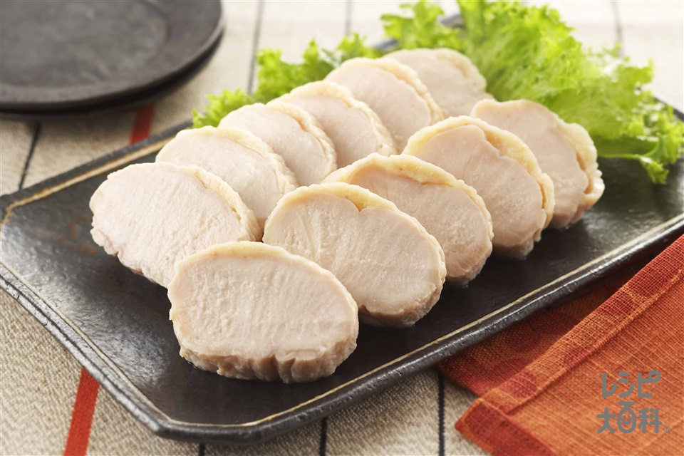 基本の塩鶏(鶏むね肉+砂糖を使ったレシピ)