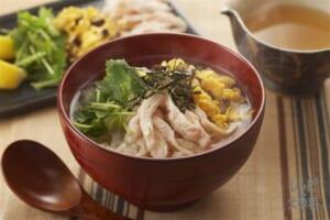 鶏飯風スープかけご飯