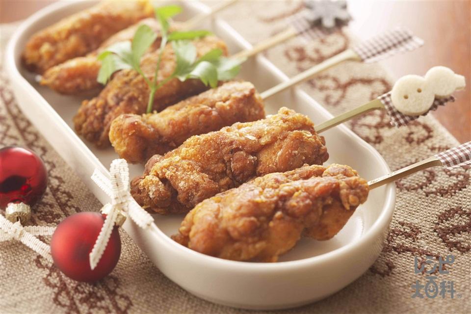 スパイシーチキン(鶏もも肉+片栗粉を使ったレシピ)
