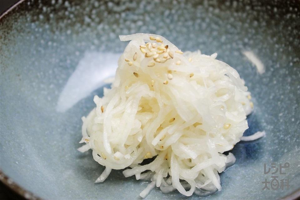 大根ナムル(大根を使ったレシピ)