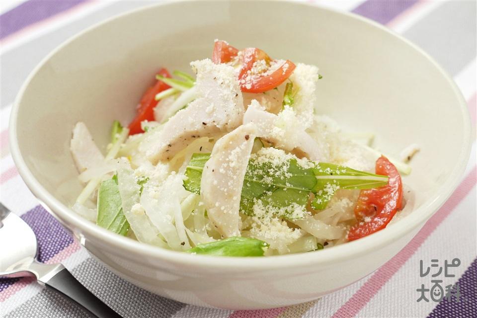 とりハム大根のイタリアンサラダ(とりハム+大根を使ったレシピ)