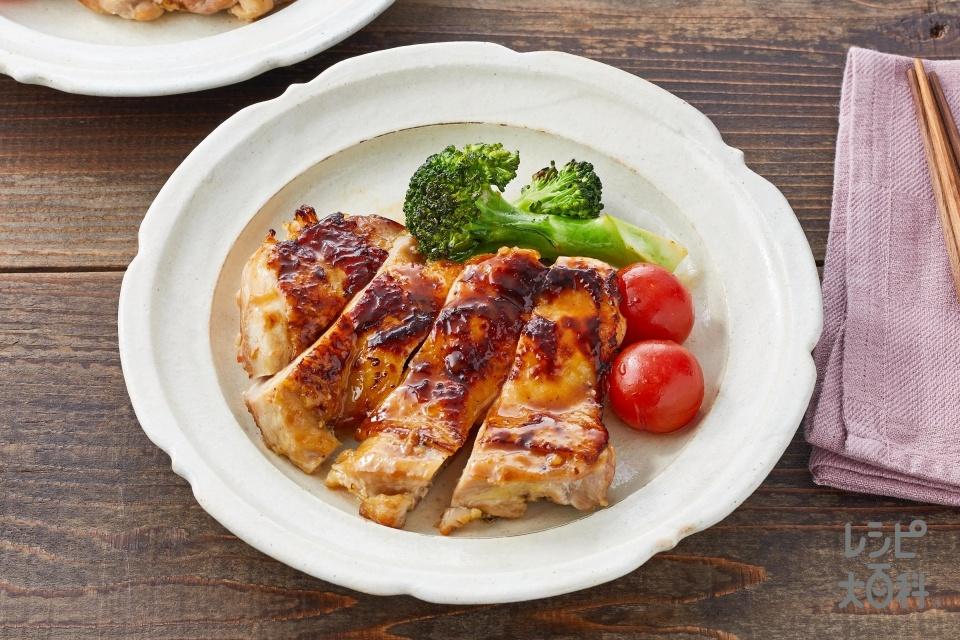 塩麹のチキンソテー(鶏もも肉+ミニトマトを使ったレシピ)