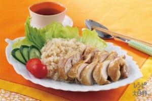 中華風鶏飯