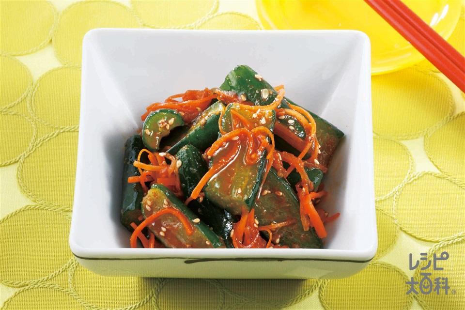 オイキムチ(きゅうり+大根を使ったレシピ)