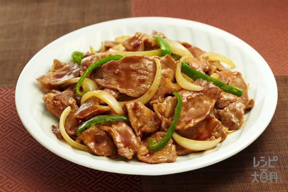 豚肉と玉ねぎの中華生姜焼き
