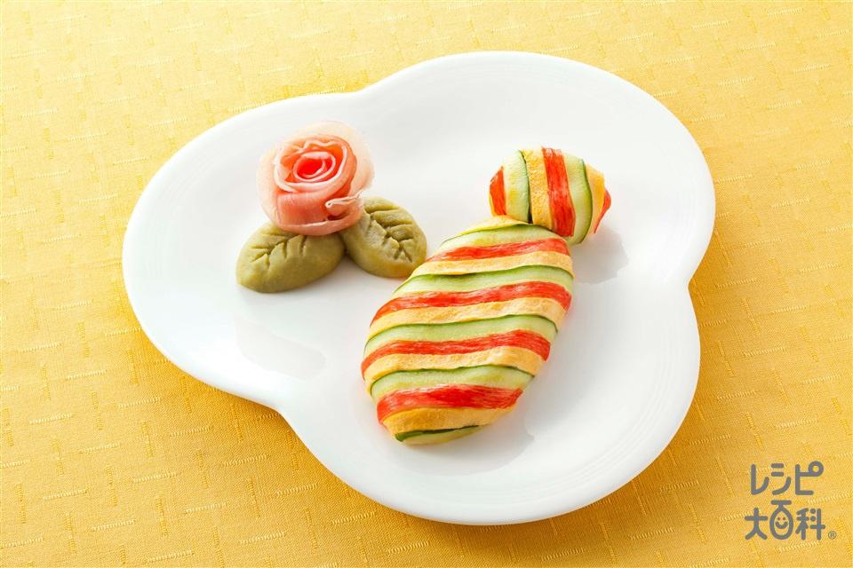 父の日「ピュアデコポテトサラダ」(じゃがいも+かに風味かまぼこを使ったレシピ)
