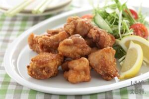 鶏のコンソメから揚げ(鶏もも肉+きゅうりを使ったレシピ)