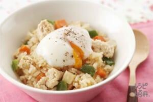 ガパオ風炊き込みライス(米+鶏ひき肉を使ったレシピ)