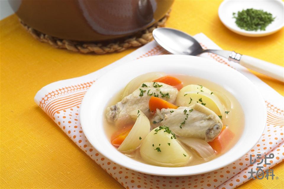 鶏じゃがスープ