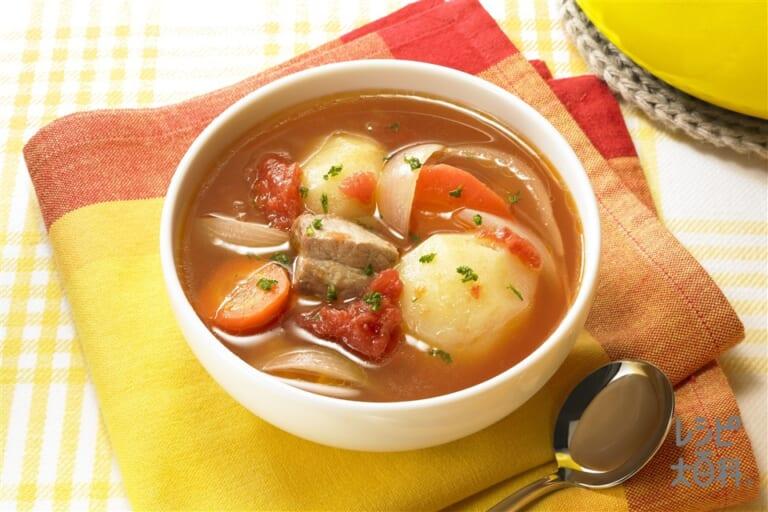 ナイス リメイク!とんじゃがトマトスープ