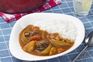 ナイス リメイク!牛肉のトマトカレー(ご飯+を使ったレシピ)