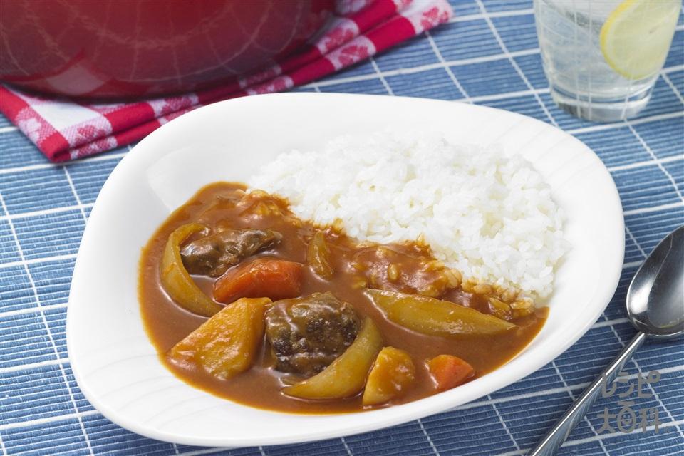 ナイス リメイク!牛肉のトマトカレー(ご飯を使ったレシピ)