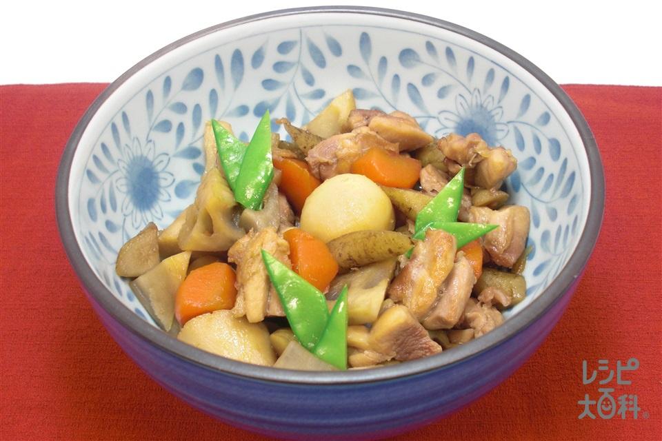 筑前煮(鶏もも肉+れんこんを使ったレシピ)