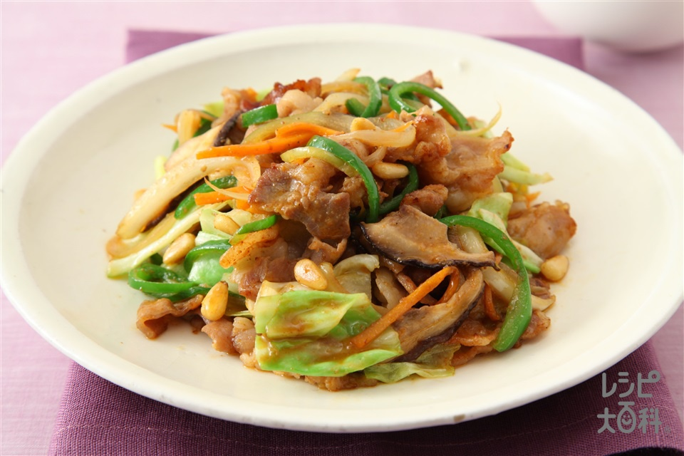 デジプルコギ(豚プルコギ)(豚バラ薄切り肉+「Cook Do コリア!」プルコギ用を使ったレシピ)
