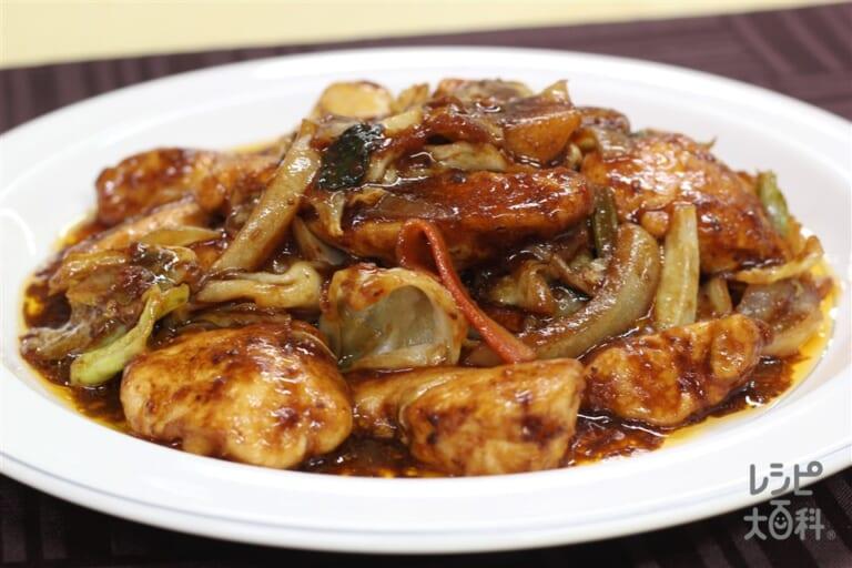 鶏むね回鍋肉(カット野菜使用)