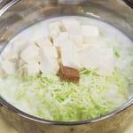 キャベツと豆腐のミルクスープの作り方_1_0