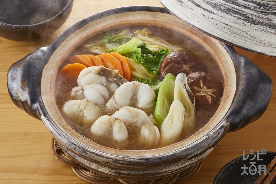 あんこう鍋(あんこう+白菜を使ったレシピ)