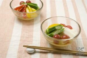カラフル夏野菜のマリネ