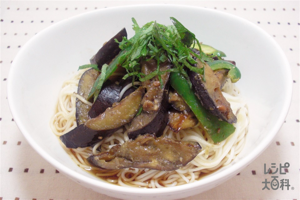 七夕星麺(せいめん)~宮城~(うーめん+なすを使ったレシピ)