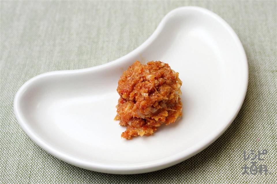 ヤンニョムジャン風辛味だれ(ねぎのみじん切り+すり白ごまを使ったレシピ)