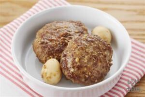 ごまみそバーグ(合いびき肉+溶き卵を使ったレシピ)