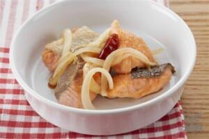 鮭の焼きびたし(生ざけ+を使ったレシピ)