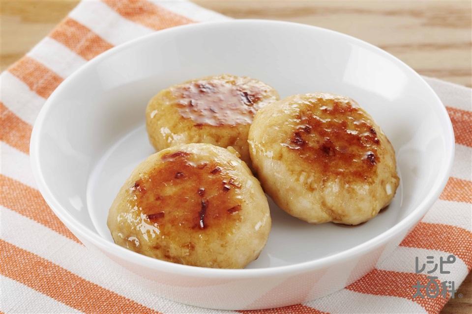鶏マヨつくね(鶏ひき肉+Aねぎのみじん切りを使ったレシピ)