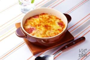 ナイス リメイク!トマトおでんドリア(ご飯+溶き卵を使ったレシピ)