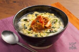 キムチチゲ風韓国スープ飯