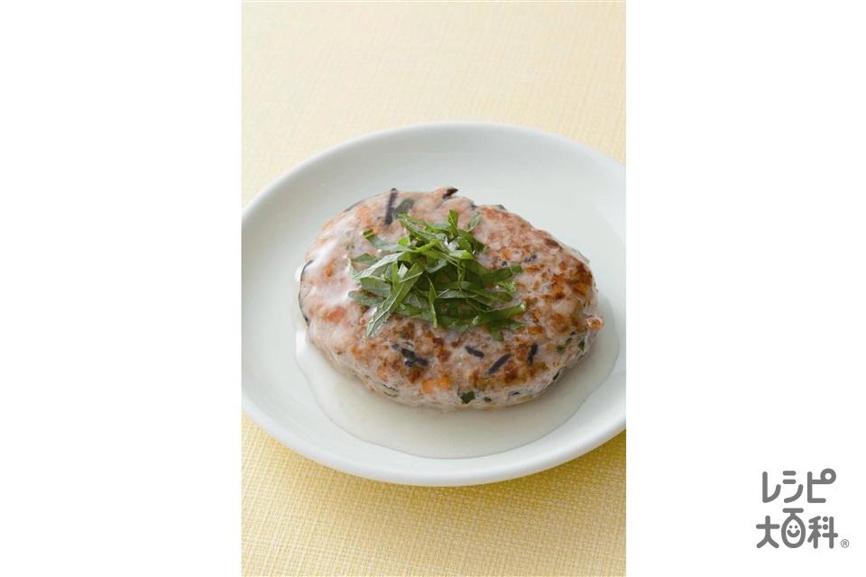 豆腐でヘルシーハンバーグ(鶏ひき肉+木綿豆腐を使ったレシピ)