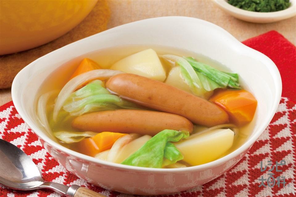 菜愛ぽかぽかスープ