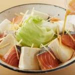鮭と豆腐・キャベツのキムチレンジ蒸しの作り方_2_3