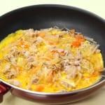 豚バラ大根の卵とじ丼の作り方_1_0