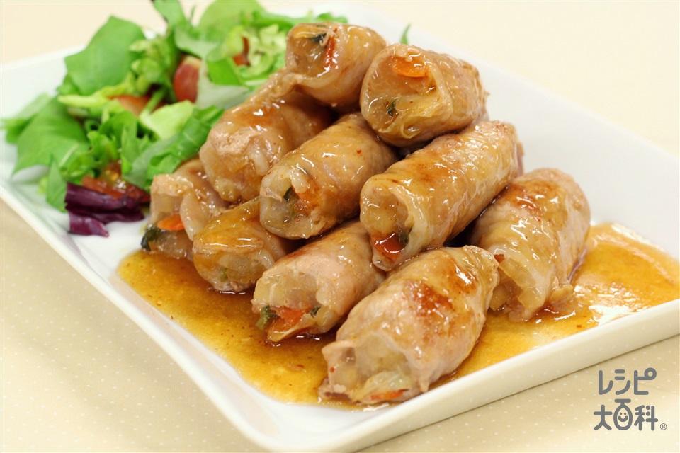 肉巻き大根(豚ロース薄切り肉+大根を使ったレシピ)